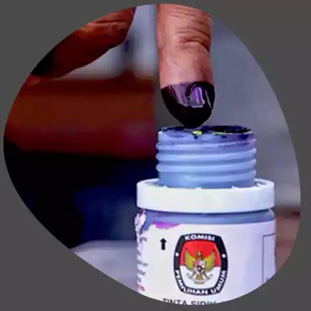 ilustrasi tinta sidik jari